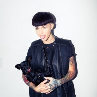 Ruby Rose's pet Chance