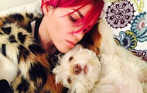 Ruby Rose - dog - Ru - Instagram