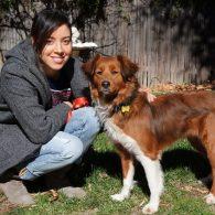 Aubrey Plaza's pet Macy