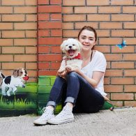 Maisie Williams' pet Sonny