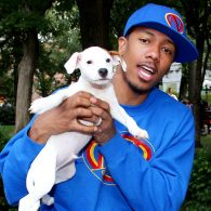 Nick Cannon's pet The Good Reverend Pow Jackson and Mutley P Gore Jackson The Third