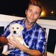 Scott Eastwood's pet Freddy