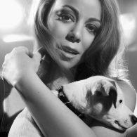 Mariah Carey's pet JJ