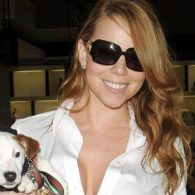 Mariah Carey's pet Jackie Lambchops