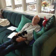 Patrick Stewart's pet Bella