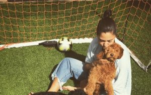 Ayesha Curry - labradoodle - Rookie