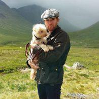 Ewan McGregor's pet Sid