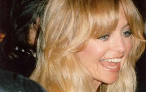 Goldie Hawn at 1989 Oscars