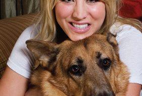 Kaley Cuoco - dog - Lucy - Zeus