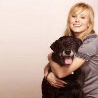 Kristen Bell's pet Pat