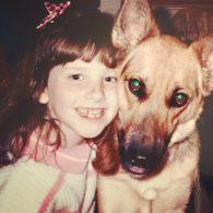 Melissa Rauch's pet Lucky