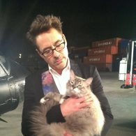 Robert Downey Jr.'s pet Montgomery and Dartanian