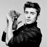 Zac Efron's pet Cat