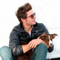 Zac Efron's pet Dreamer