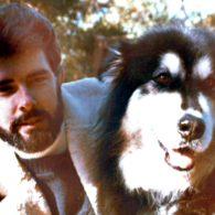 George Lucas' pet Indiana