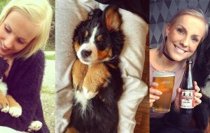 Luna is a Bernese Mountain Dog Norway With Over 70k Followers