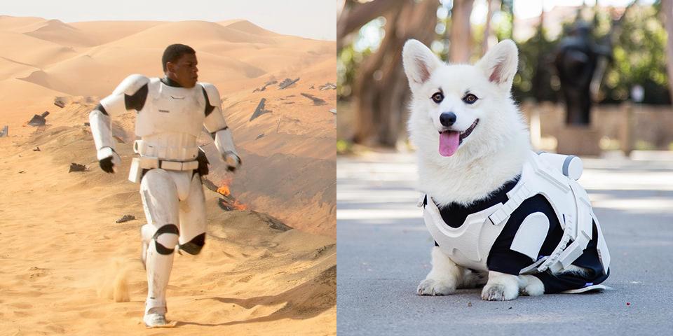 John Boyega - Winston - storm troopers