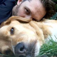 Tom Hardy's pet Woodstock Yamaduki Hardy