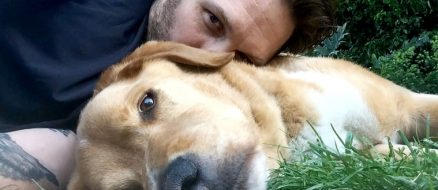 Tom Hardy writes heartfelt tribute to his dog Woody who just passed away