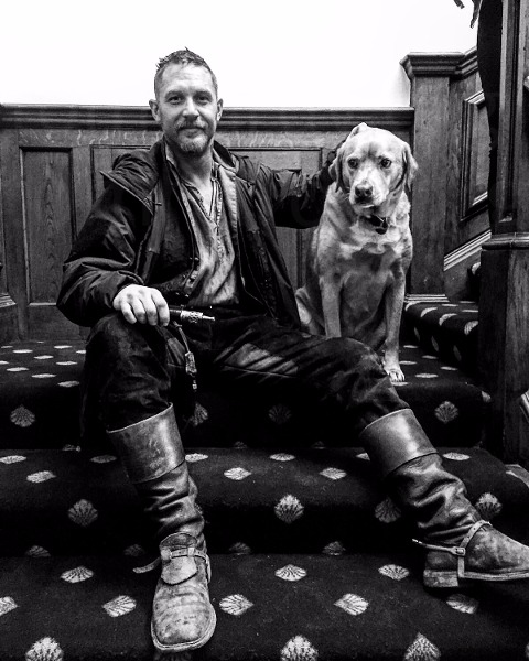 Tom Hardy writes heartfelt tribute to his dog Woody who just passed away 2