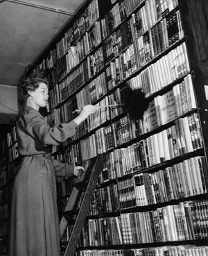 Christina Foyle Bookshop