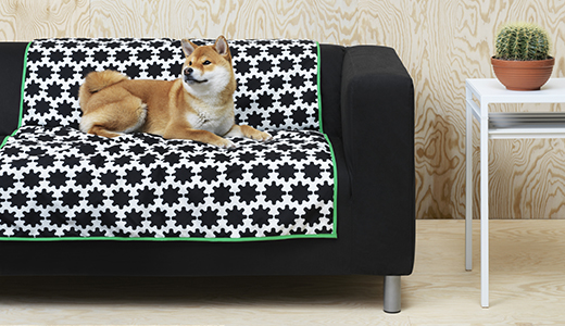 Ikea lurvig dog furniture