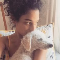 Jenny Slate's pet Reggie
