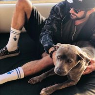 Zac Efron's pet MACA