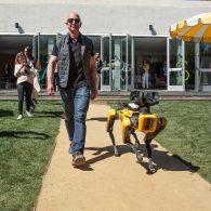 Jeff Bezos' pet SpotMini