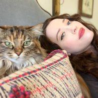 Kat Dennings' pet Millie