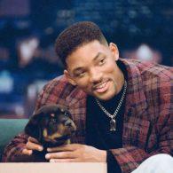 Will Smith's pet Indo, Gracie, Zhaki, Tyson